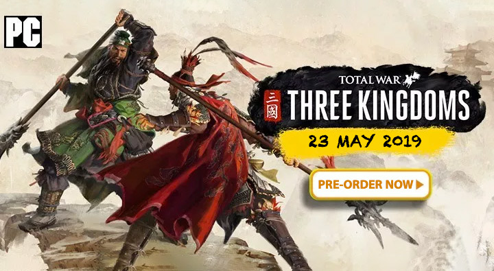 Pre-Order Total War: Three Kingdoms Now at OffGamers