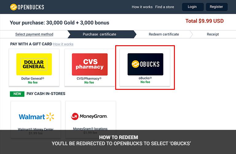 Buy OpenBucks Card (Global) - OffGamers Online Game Store