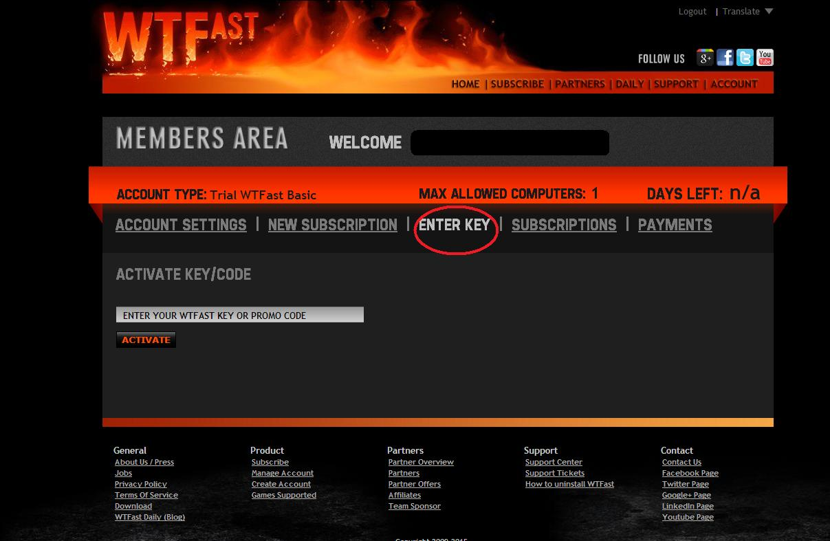 Buy WTFast - OffGamers Online Game Store